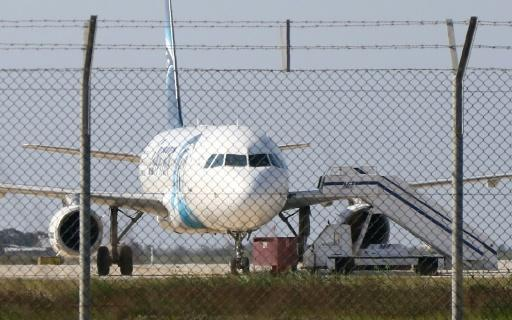 EgyptAir hijacker demands asylum in Cyprus: state radio