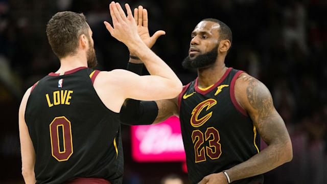 Kevin Love made a valiant return Monday to help the Cavs past the Bucks.