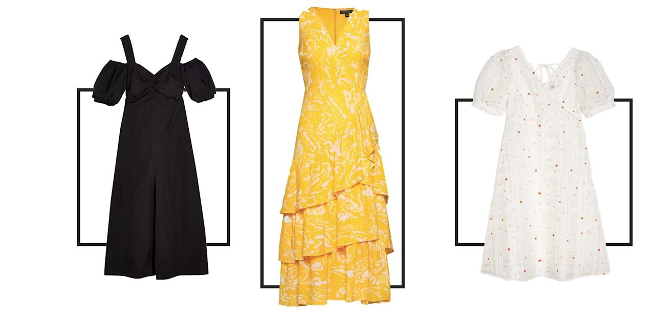 <p>If you are shorter than average height, it can sometimes be difficult to find dresses which flatter your frame with hemlines often sitting far lower than we want them to. Although altering your clothes is always a great option for getting the perfect fit, it's also worth scouting around the petite sections that are offered at a number of brands, both high street and more high end.</p><p>Below, we round up some of the best investment dresses to consider if you have a petite frame. From work-appropriate to party-ready, here are our favourite petite dresses from Ralph Lauren, Topshop, J Crew and beyond.</p>