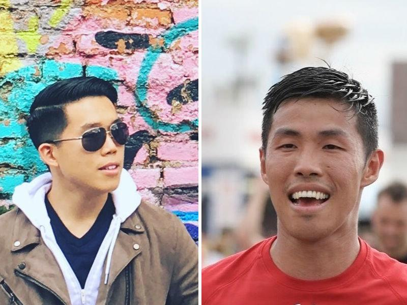 Phillip Cheng, left, and Kai Ng, right, share many similaritiesas Chinese-American immigrants, but grew up in contrasting communities.