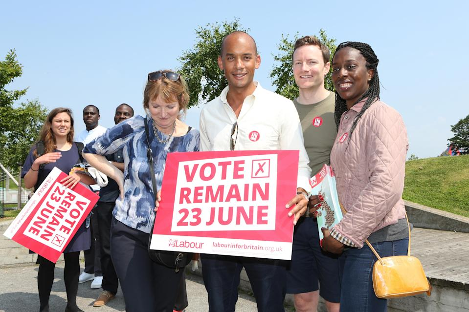 Labour MP Chuka Umunna argues it is democratic to have a second referendum (Getty)