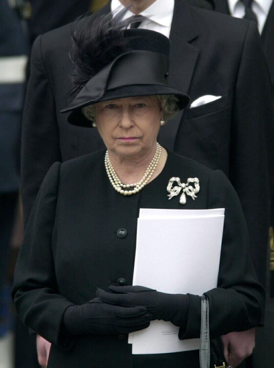 The Royal Family Gather At Westminster Abbey For The Funeral Of The Q. Mother Who Had Lived To The Age Of 101