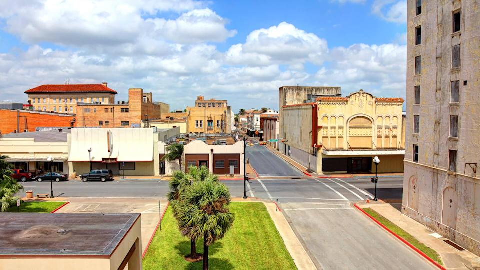 Brownsville is located at the southernmost tip of Texas, on the northern bank of the Rio Grande, directly north and across the border from Matamoros, Tamaulipas, Mexico.