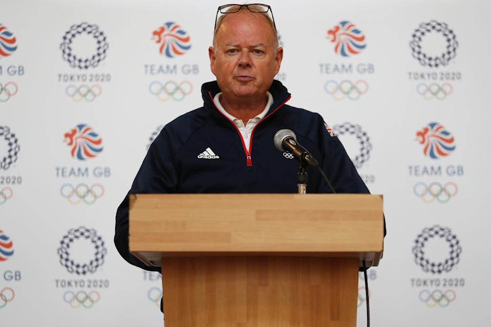 <p>Mark England says Team GB are 'on the cusp of history'</p> (Getty Images)
