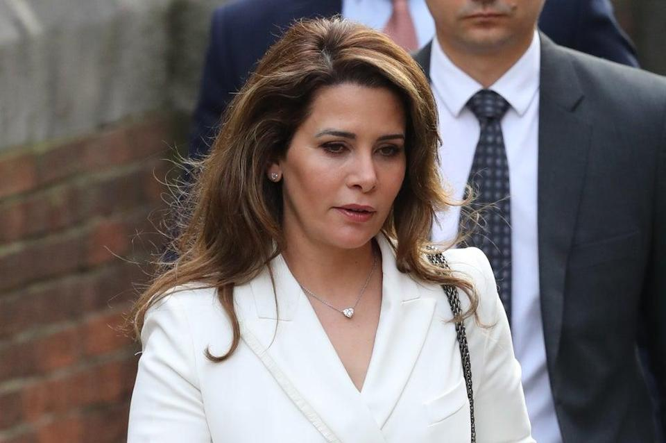 Princess Haya said she felt she was being watched (Aaron Chown/PA) (PA Wire)