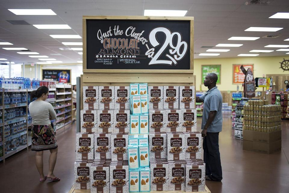 "<p>Especially at city locations, Trader Joe's stores can feel small compared to other major supermarkets. Don't be quick to count that as a negative though—because it's <a href=""http://www.investopedia.com/articles/markets/082715/trader-joes-stock-doesnt-exist-heres-why.asp"" rel=""nofollow noopener"" target=""_blank"" data-ylk=""slk:not a public chain"" class=""link rapid-noclick-resp"">not a public chain</a>, TJ's doesn't have pressure to grow and can keep stores stocked with an affordable selection of specialty items.</p>"