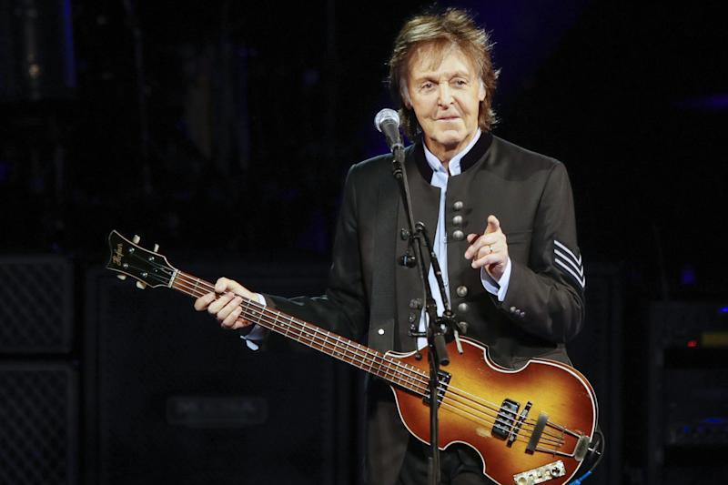 Fuming: Sir Paul McCartney is heading to the UK: AFP/Getty Images