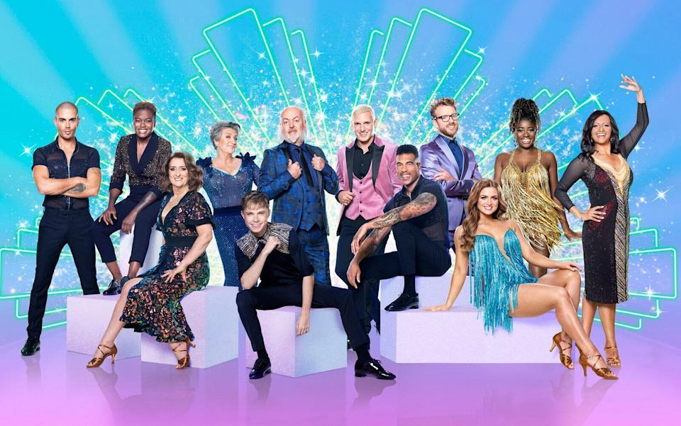 This year's Strictly Come Dancing line-up (Photo: BBC)
