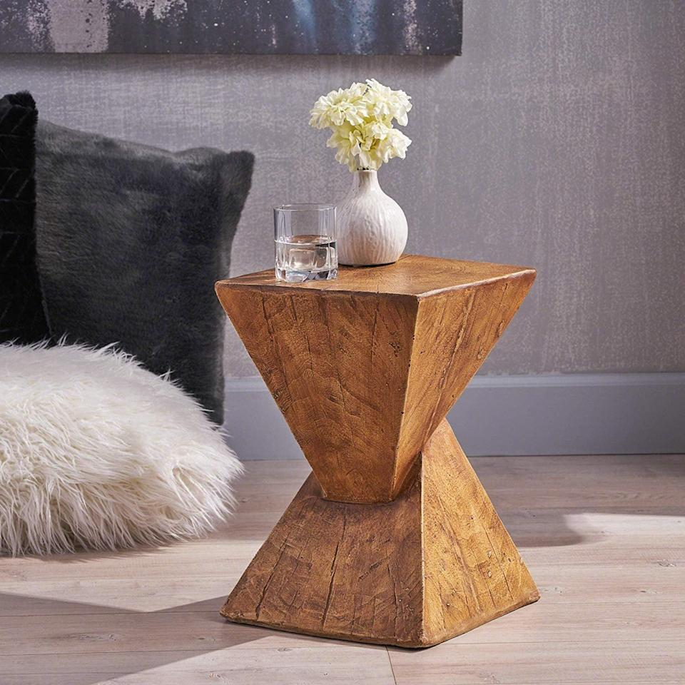 <p>If you love wood accents, try this <span>Christopher Knight Home Accent Table</span> ($79).</p>