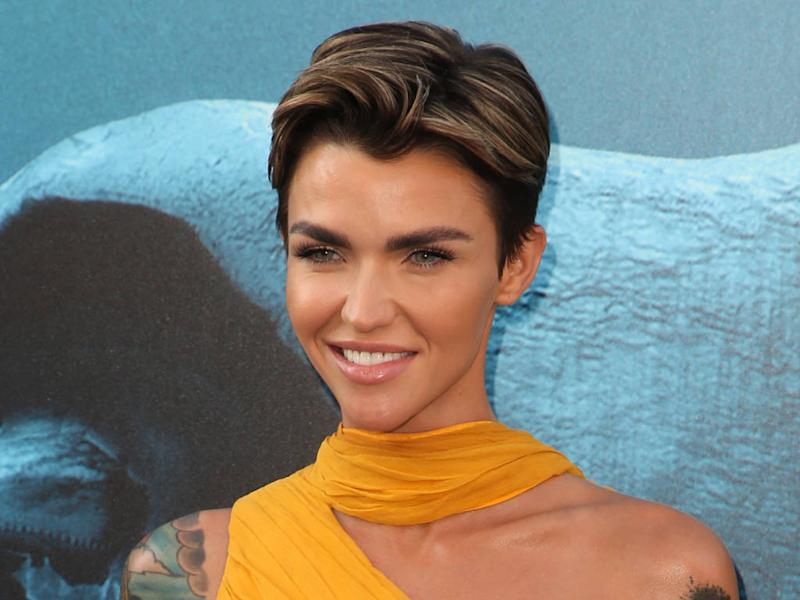 Ruby Rose Tests New Hairstyles Using Photoshop