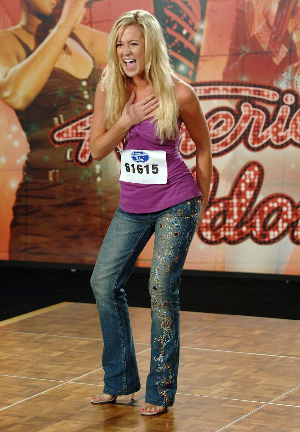 "<p>If you <em>do </em>get a callback, your second round audition is for producers and they're the ones who ultimately decide if you get a <a href=""https://www.today.com/popculture/american-idol-101-frequently-asked-questions-wbna22541241"" rel=""nofollow noopener"" target=""_blank"" data-ylk=""slk:judges panel audition"" class=""link rapid-noclick-resp"">judges panel audition</a> or not.</p>"