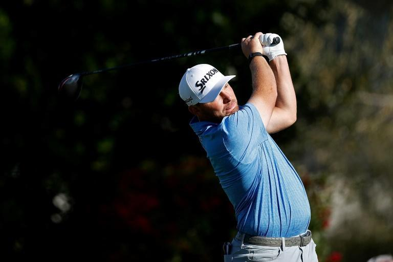American Matt NeSmith shares the early first-round lead with Mark Hubbard at the US PGA Tour Phoenix Open