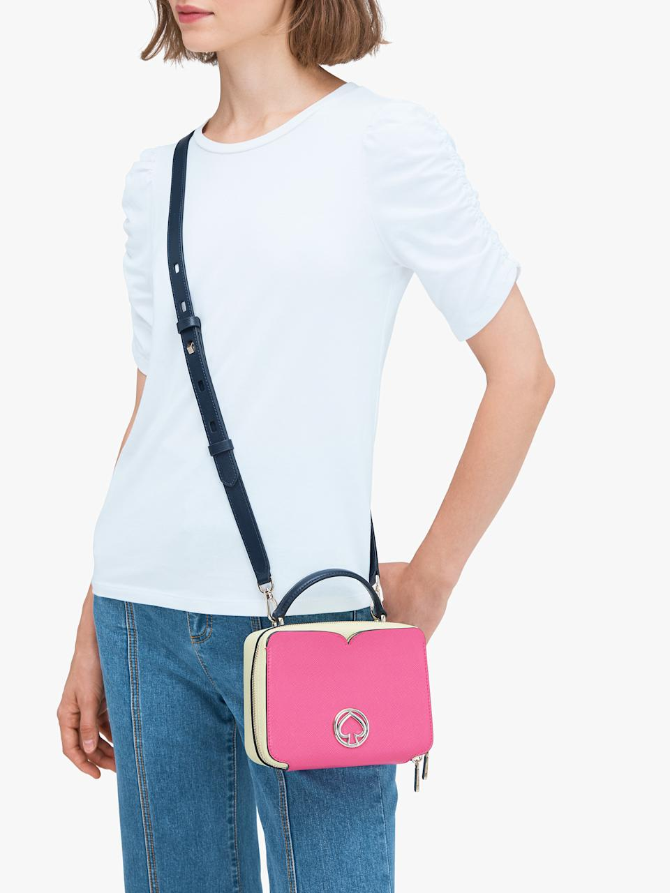 Vanity Mini Top Handle Bag. Image via Kate Spade.