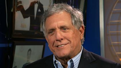 CBS Chairman and CEO Les Moonves.