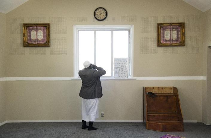 Linwood mosque - one of two targeted in the Christchurch massacre - has seen worshipper numbers drop significantly after the attack (AFP Photo/WILLIAM WEST)