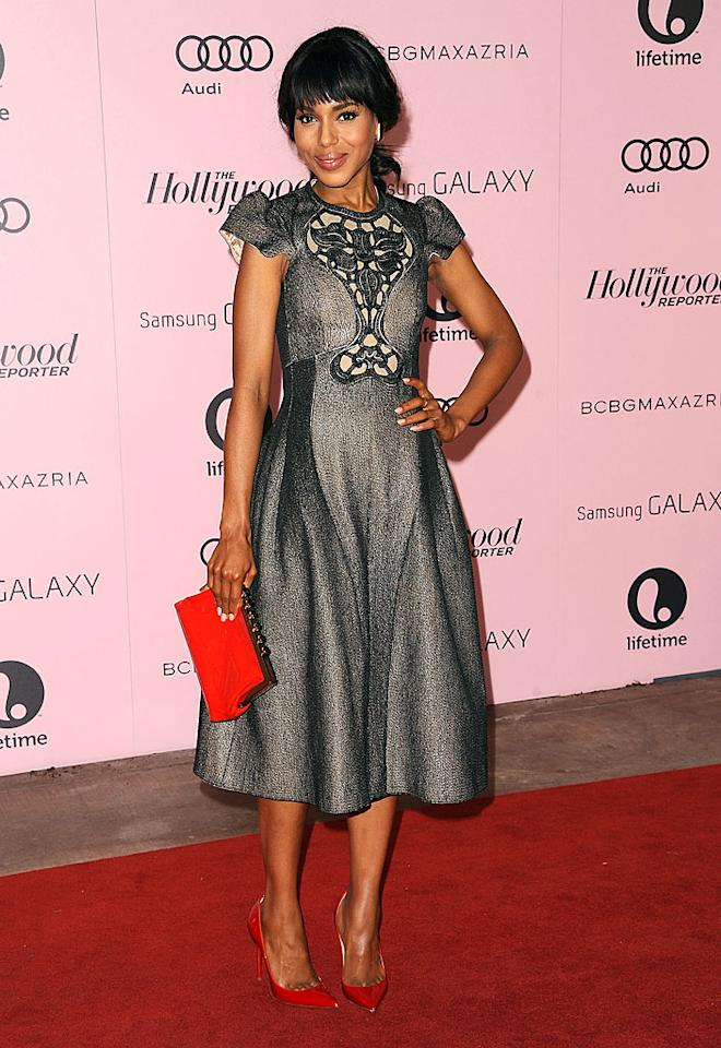 BEVERLY HILLS, CA - DECEMBER 05:  Actress Kerry Washington attends the Hollywood Reporter's 21st annual Women In Entertainment breakfast at The Beverly Hills Hotel on December 5, 2012 in Beverly Hills, California.  (Photo by Jason LaVeris/FilmMagic)