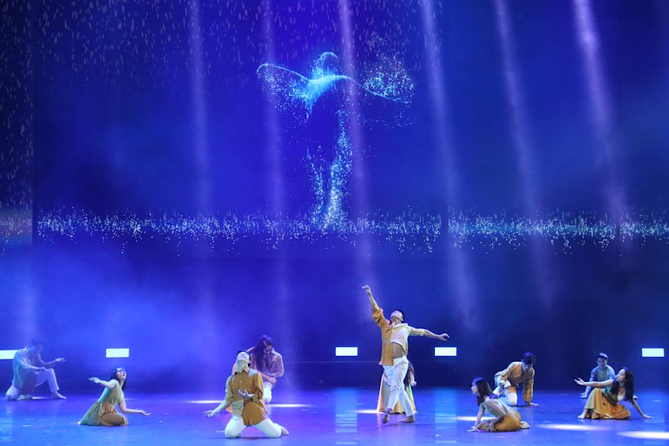 The National Day Parade 2020 Evening Show features small-group performances; it will be broadcast live from The Star Performing Arts Centre. (Photo: NDP2020 Exco)