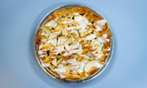 """<p>Real talk: Pie crust is the most difficult part of<a href=""""http://cooking.nytimes.com/guides/3-how-to-make-a-pie-crust"""" rel=""""nofollow noopener"""" target=""""_blank"""" data-ylk=""""slk:making a pie"""" class=""""link rapid-noclick-resp""""> making a pie</a>. Achieving a buttery, flaky consistency without going too far past golden brown is not always easy. And there are times when you simply don't have the time or patience to make a crust from scratch—that's why <a href=""""http://www.thekitchn.com/the-frozen-pie-crust-taste-test-we-tried-7-brands-and-heres-our-favorite-225709"""" rel=""""nofollow noopener"""" target=""""_blank"""" data-ylk=""""slk:store-bought pie crust"""" class=""""link rapid-noclick-resp"""">store-bought pie crust</a> is a godsend. So why not go a step further by using another type of ready-to-bake tube for your <a href=""""http://cooking.nytimes.com/recipes/12320-apple-pie"""" rel=""""nofollow noopener"""" target=""""_blank"""" data-ylk=""""slk:apple pie"""" class=""""link rapid-noclick-resp"""">apple pie</a> crust? You can probably see where we're going with this. <a href=""""http://www.yourcupofcake.com/2013/10/10-things-to-make-with-store-bought-cinnamon-rolls.html"""" rel=""""nofollow noopener"""" target=""""_blank"""" data-ylk=""""slk:Store-bought refrigerated cinnamon rolls"""" class=""""link rapid-noclick-resp"""">Store-bought refrigerated cinnamon rolls</a> are the perfect crust for this most American of desserts. Think that's a little too weird? You add cinnamon to your apple pie, don't you? It's not <em>that</em> out there. </p> <p>Halving and rolling out the <a href=""""https://www.myrecipes.com/recipe/brown-sugar-cinnamon-rolls-are-county-fair-level-excellent?iid=sr-link1"""" rel=""""nofollow noopener"""" target=""""_blank"""" data-ylk=""""slk:cinnamon buns"""" class=""""link rapid-noclick-resp"""">cinnamon buns</a> ensures that they'll stay thin and crisp like a pie crust would, rather than rising into actual cinnamon buns. Don't have a rolling pin? No problem. You can flatten the cinnamon buns using a glass. Just make sure to properly flour the surface. We saved som"""