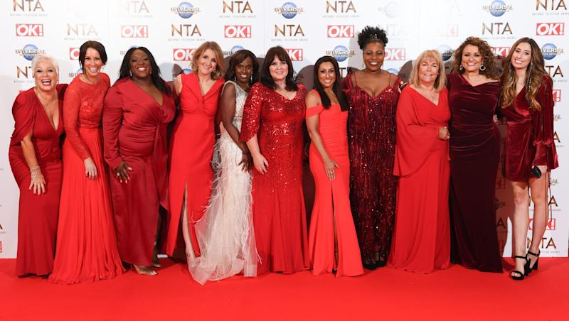 Loose Women 25th National Television Awards, Arrivals, O2, London, UK - 28 Jan 2020
