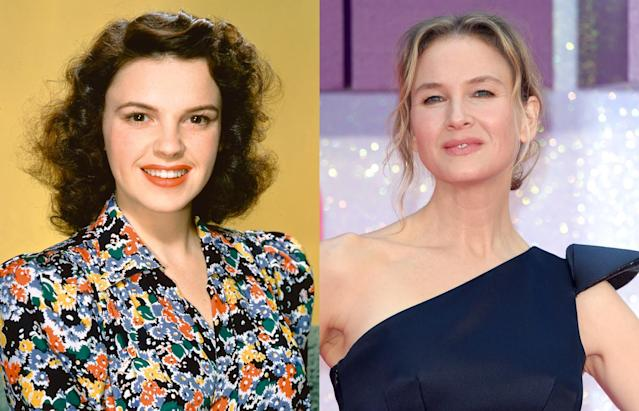 Judy Garland and Renée Zellweger. (Photos: Getty Images)