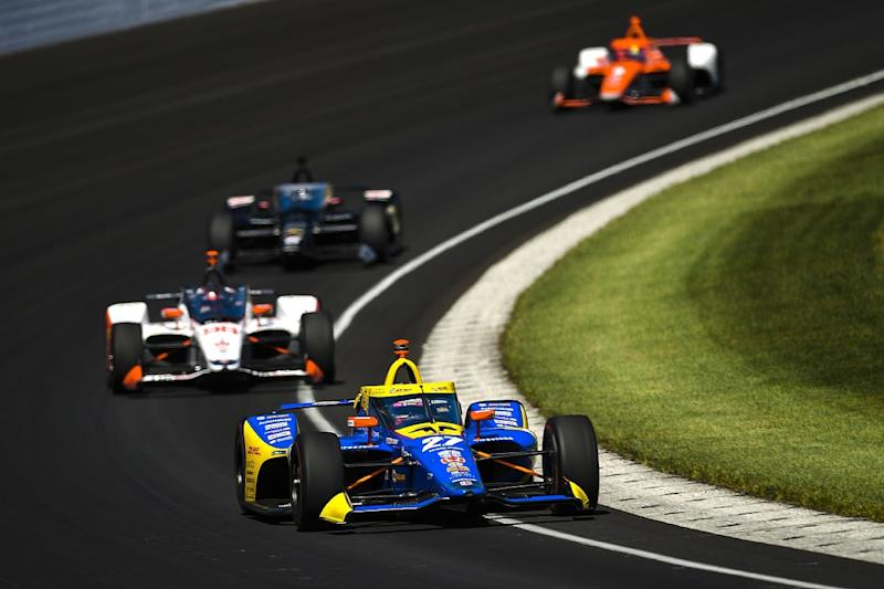 Sato takes second Indy 500 victory under caution