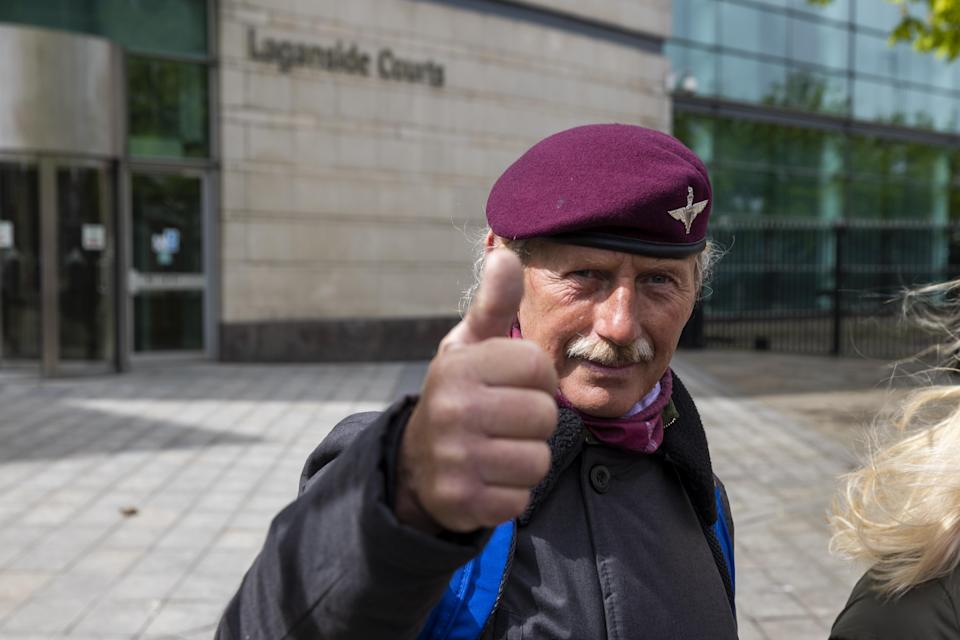 Man welcomes trial collapse