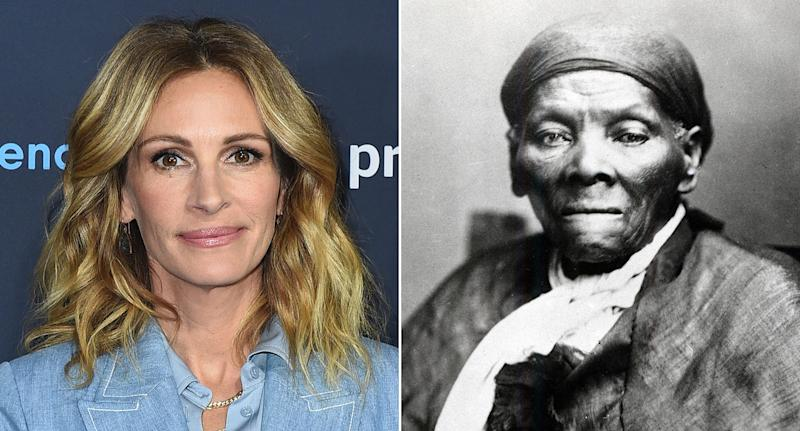 A studio exec suggested Julia Roberts could play Harriet Tubman, claims writer. (Jordan Strauss/Invision/AP-Getty)