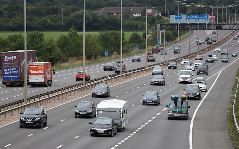Teenage boy left seriously injured after being hit by multiple cars on the M5 - PA