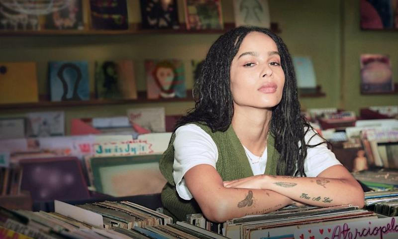 Zoe Kravitz in a tank top in High Fidelity