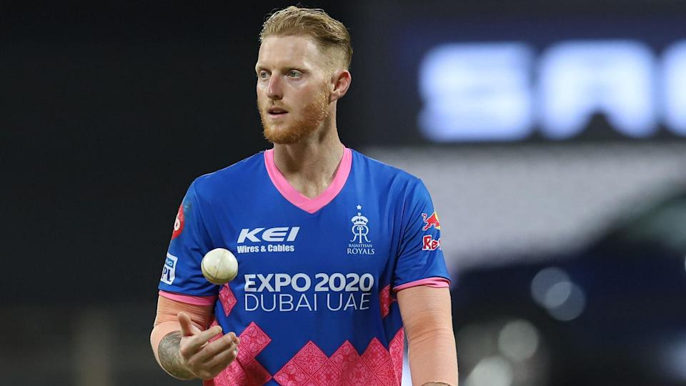 Ben Stokes suffered an injury in the opening game for Rajasthan Royals in IPL 2021 against Punjab Kings.