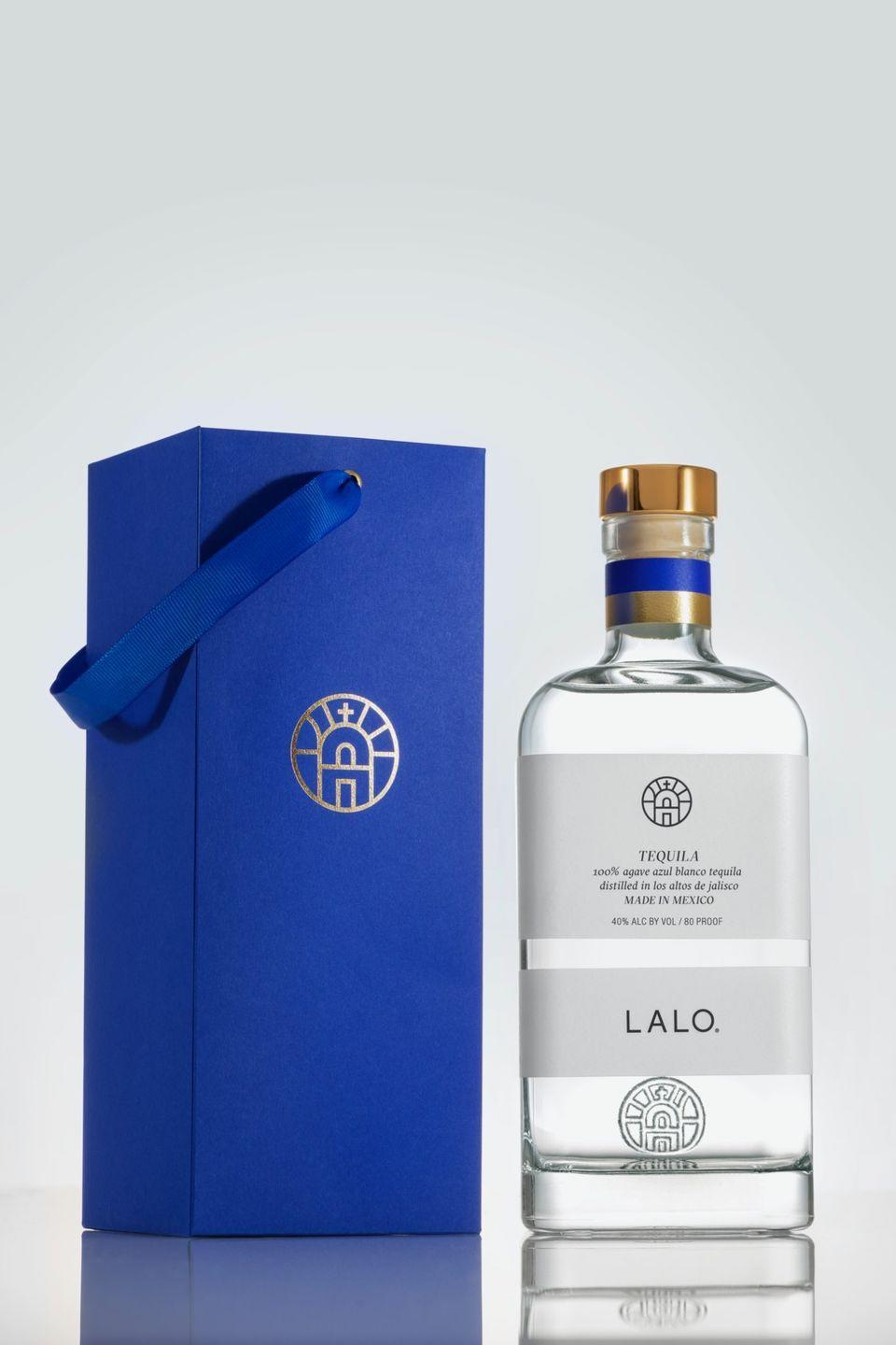 "<p>LALO tequila is named after Eduardo ""Lalo"" González, who was given the nickname by his grandfather, Don Julio González. Yup, <em>that </em>Don Julio. This pure, blanco tequila is made by Eduardo and his friend Davíd and has notes of cooked agave, sweet potato, cinnamon, and a hint of dulce de leche<em>.</em></p><p><a class=""link rapid-noclick-resp"" href=""https://shoplalospirits.com/"" rel=""nofollow noopener"" target=""_blank"" data-ylk=""slk:BUY NOW"">BUY NOW</a> <strong><em>$53, shoplalospirits.com</em></strong></p>"