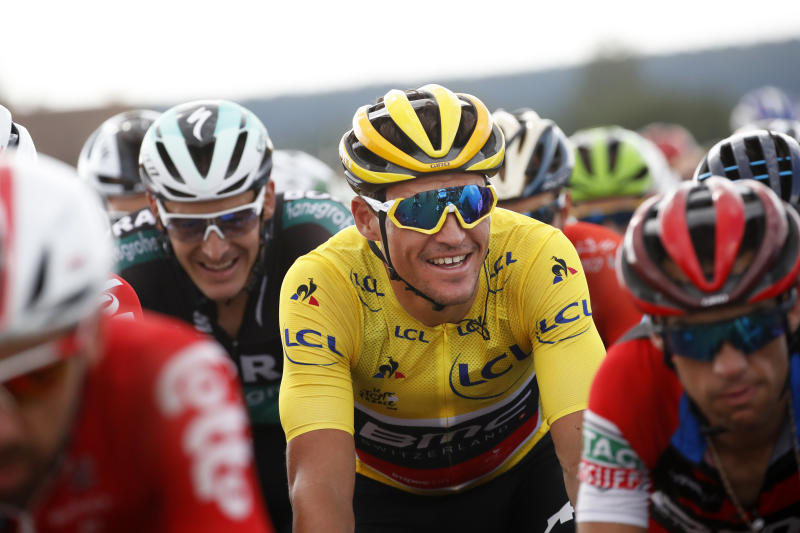 Tour de France 2018: Dylan Groenewegen sprints to stage seven success