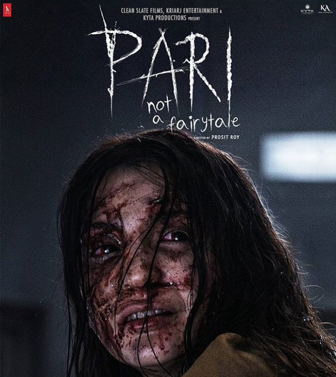 Official poster of the film, Pari