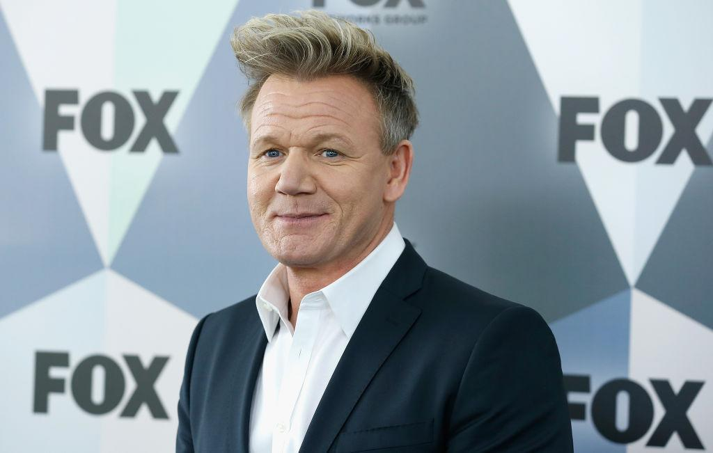 Chef Gordon Ramsay has been crowned the UK's sexiest TV male, pictured in May 2018. (Getty Images)