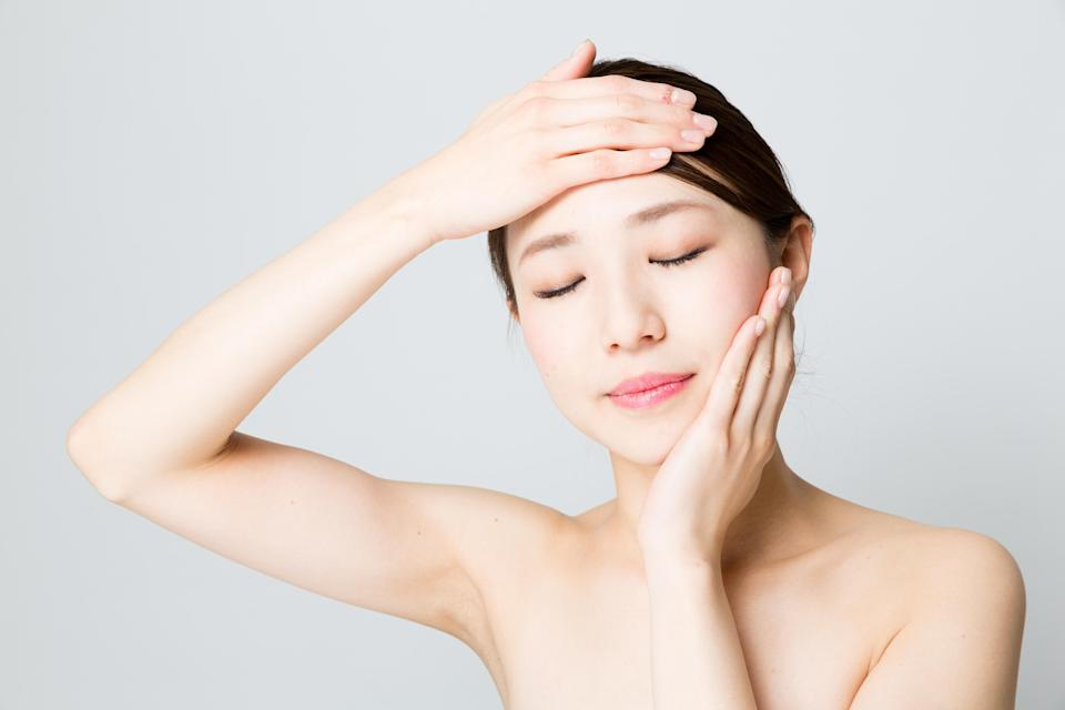 Incorporating some facial exercises into your daily routine could benefit your skin hugely [Photo: Getty]