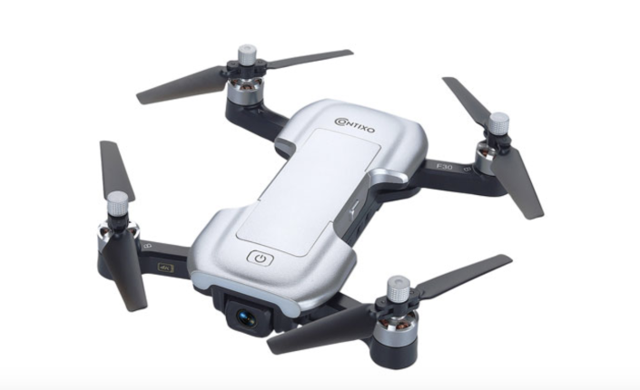 Contixo F30 Quadcopter Drone with Camera & Controller - Ready-to-Fly - White - Only at Best Buy