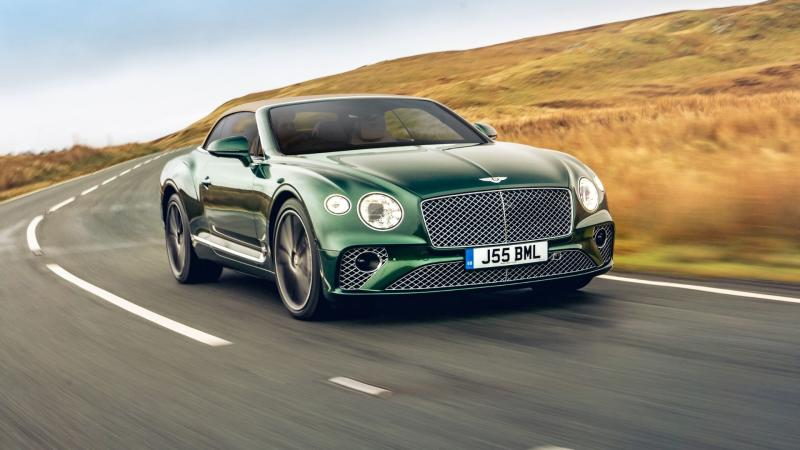 bentley continental gt tweed hood prezzo