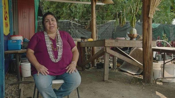 PHOTO: Corrina Gould, a member of the Lisjan Ohlone People, is the co-founder of the Sogorea Te' Land Trust, a Native woman-led organization that facilitates the return of indigenous land to indigenous people. (ABC News )