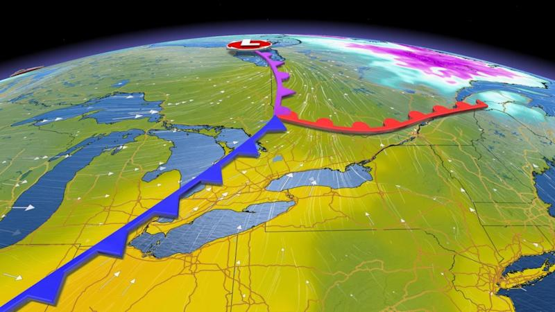 Ontario: Double-digit temperatures and dry conditions on tap for Friday