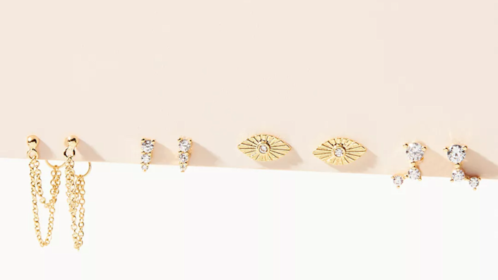 These earrings are on sale for a huge discount.