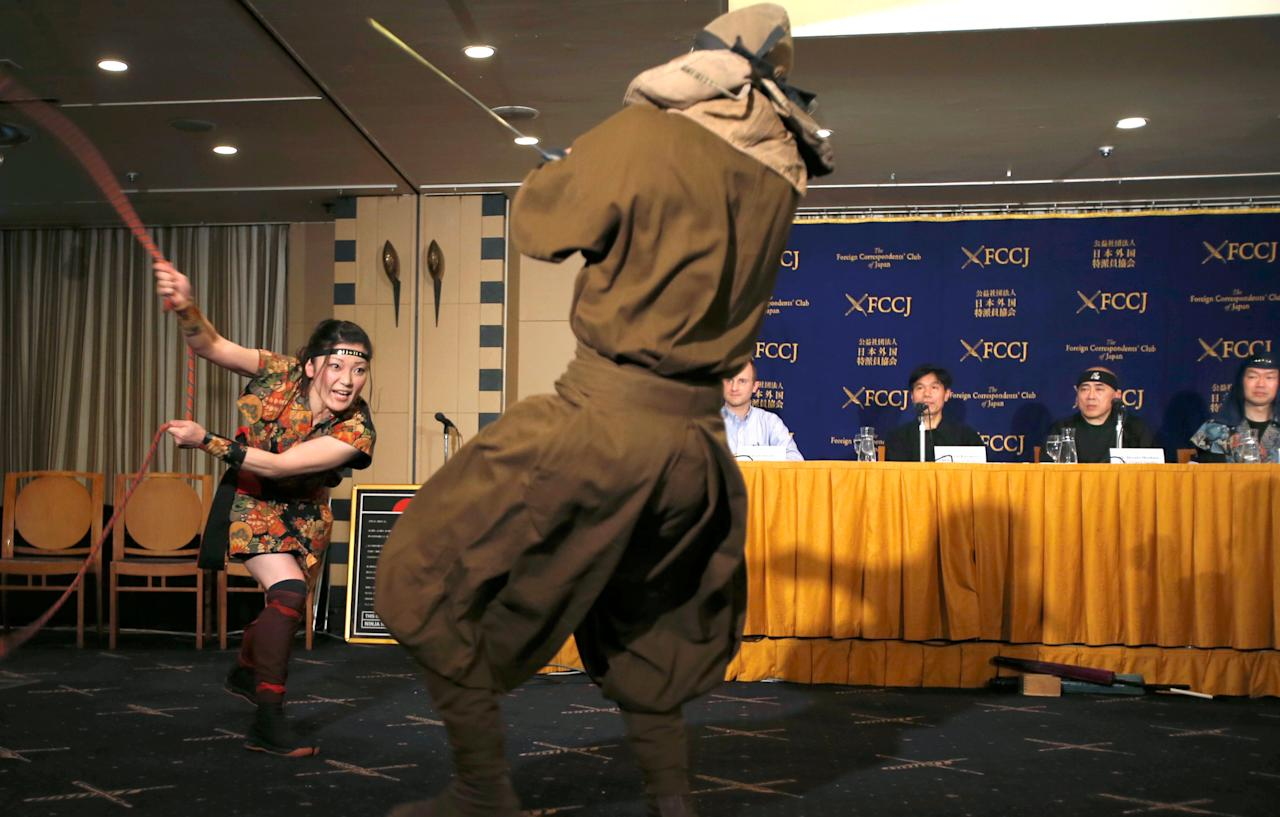 'Ninja business': Japan turns to samurai-era acrobatic spies to woo tourists