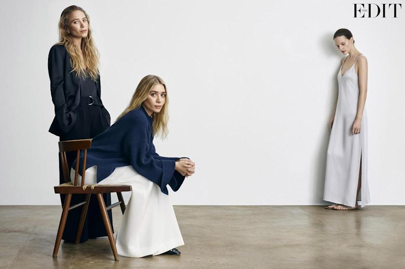 Ashley, Mary-Kate and Sara Blomqvist wear clothes by Elizabeth and James SS17 and shoes by The Row: Michael Schwartz for The Edit, net-a-porter.com