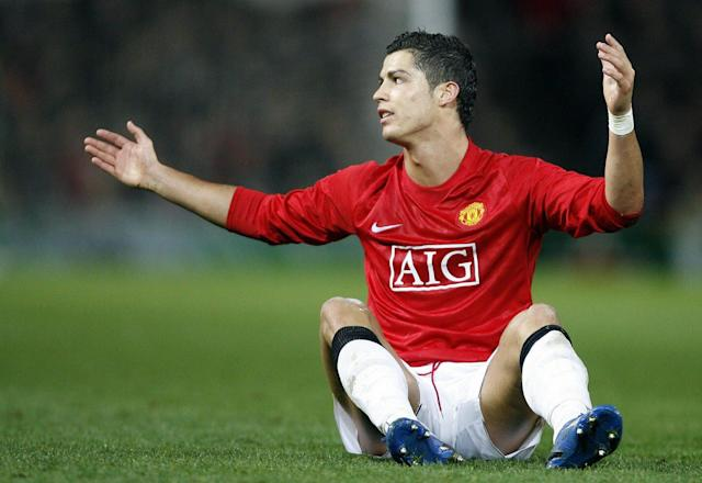 <span>Cristiano Ronaldo didn't score in the Champions League until a brace in the 2007 quarter-finals</span> <span>Credit: ANDREW YATES/AFP/Getty </span>