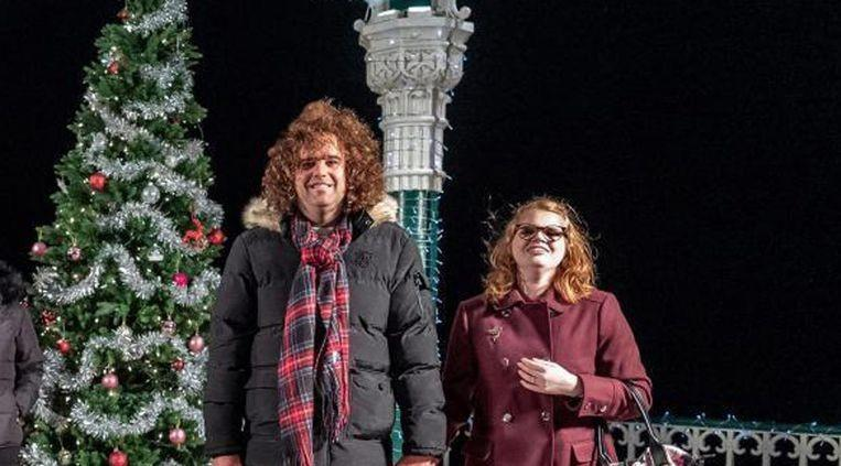 'The Undateables' Daniel and Lily became engaged in the Christmas special. (Channel 4)