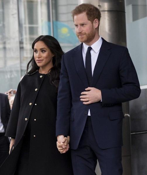 The duke and duchess paid their respects with a surprise visit to New Zealand House.