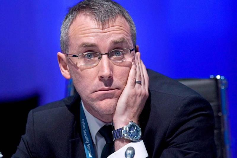 Warning: NCSC chief executive Ciaran Martin has written to the leaders of political parties (Getty)