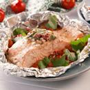 """<p> This version takes one of the most beloved, <a href=""""https://www.delish.com/uk/cooking/recipes/a29482437/tuscan-butter-salmon-recipe/"""" rel=""""nofollow noopener"""" target=""""_blank"""" data-ylk=""""slk:Tuscan Butter Salmon"""" class=""""link rapid-noclick-resp"""">Tuscan Butter Salmon</a>, and makes it foil pack friendly! Trust us, you're gonna want to add this to your daily rotation.</p><p>Get the <a href=""""https://www.delish.com/uk/cooking/recipes/a35761833/tuscan-butter-salmon-foil-packs-recipe/"""" rel=""""nofollow noopener"""" target=""""_blank"""" data-ylk=""""slk:Tuscan Butter Salmon Foil Packs"""" class=""""link rapid-noclick-resp"""">Tuscan Butter Salmon Foil Packs</a> recipe.</p>"""