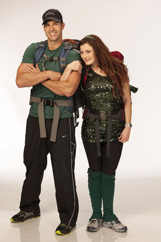 """""""Big Brother"""" vets Brendon Villegas and Rachel Reilly aka """"Brenchal"""" compete in the 20th season of """"The Amazing Race."""""""