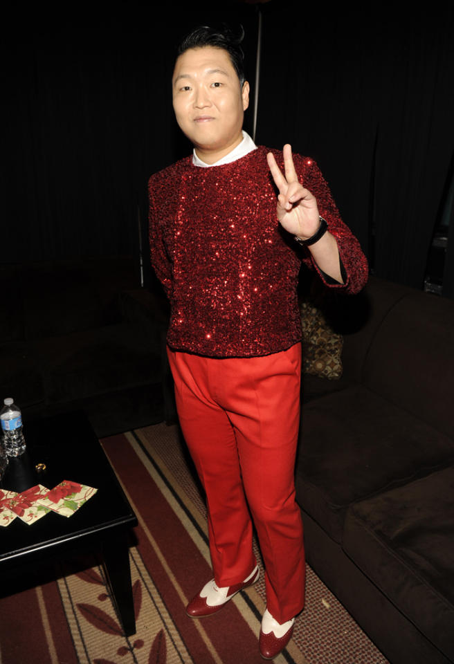 Singer Psy attends TNT Christmas in Washington 2012 at National Building Museum on December 9, 2012 in Washington, DC. 23098_003_KM_0461.JPG *** Local Caption *** Psy