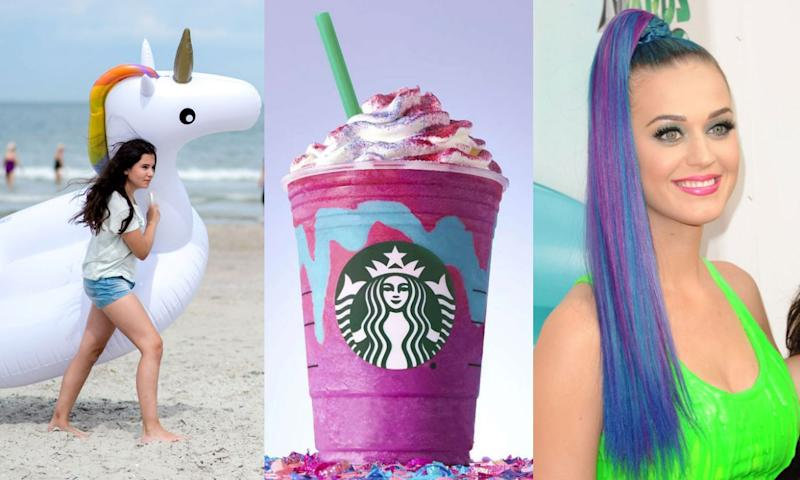 Float, Starbucks Frap, Katy Perry